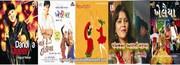 Gujarati nataks,  Hindi Movie Gujarati Garbas etc.//