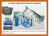 clc blocks making plant & machinery