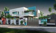 Srinagar bungalow elevation designing107#