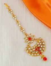 Choose the Exclusive Maang Tikka Design for Women at Best Price.